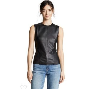 Theory Modern Seamed Shell Top. NWT. Retail- $335